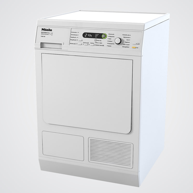 Animated Tumble Dryer ~ D ds miele t wp edition