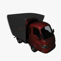 Mini-Truck Cartoon
