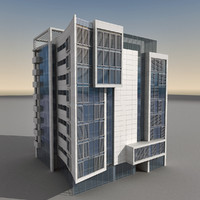 Modern Building 066