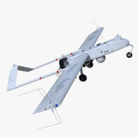 rq-7 shadow 200 unmanned 3d model
