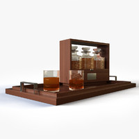 whiskey decanters max