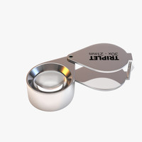 triplet loupe 3d model