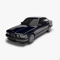 3d model bmw e34