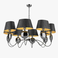3dsmax chandelier light