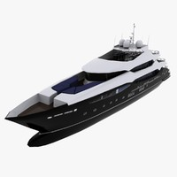 3d model sunseeker 155 yacht cruising