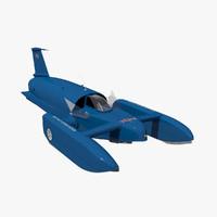 Bluebird K7 Hydroplane