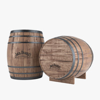3ds max whiskey barrel