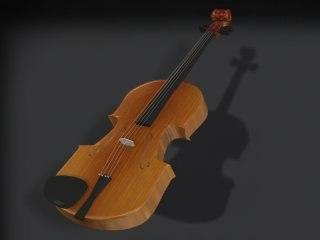 3ds max violin -