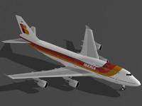 B 747-400 Iberia