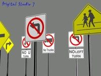 30 Pack Road Signs