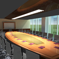 lightwave boardroom radiosity