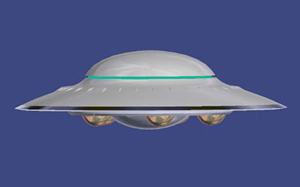 alien flying saucer - photo #19