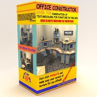 office furniture tables 3d model