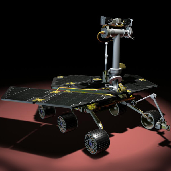 spirit rover model - photo #10