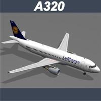 3ds airbus a320 lufthansa
