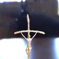 pope's crucifix 3d model