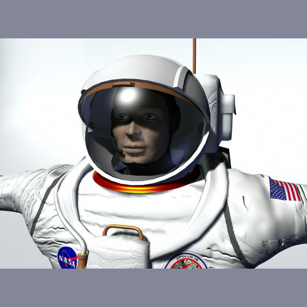 apollo astronaut 3d model - Apollo Astronaut... by PerspectX