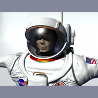 apollo astronaut 3d model