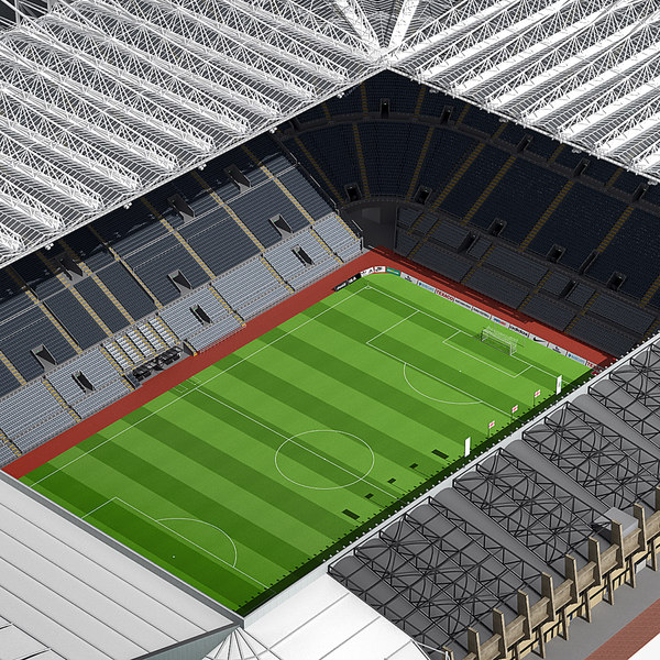 3d model of st james park