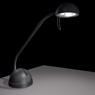 3ds max desklamp lamp - Desk Lamp... by mr3dguy