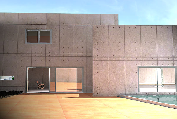 house repeated interior 3d max
