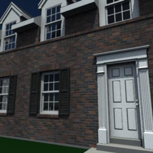 3d story residential house model - A3105F.zip... by savitch