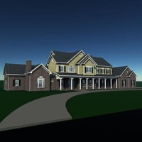 3d story residential house