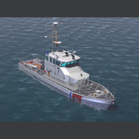 """U.S. Coast Guard Patrol Boat WPB 110"""""""