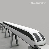 3d model of transrapid