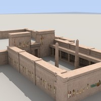 Egyptian Temple Complex