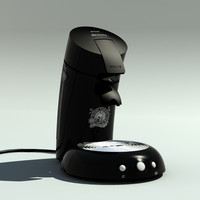 philips senseo 3d model