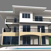 maya exterior building house