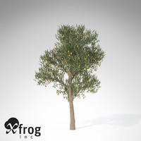 xfrogplants pear tree 3d max