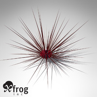 xfrogplants long-spined sea urchin 3ds