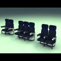 Airliner Coach Class Seats