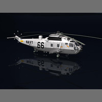 "U.S. Navy ""Helicopter 66"" - Sikorsky Sea King"
