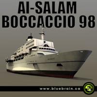 al-salam boccaccio 98 3d model