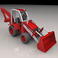 Backhoe loader II