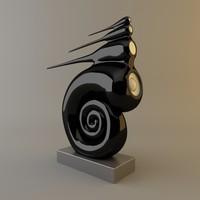 b w nautilus prestige 3d model
