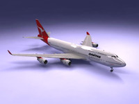 B747-400 Airliner (Qantas)