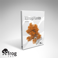 XfrogPlants Autumn Trees Library