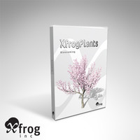 3ds max blossoming trees dvd plant