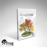 3d model bonsai trees dvd plants