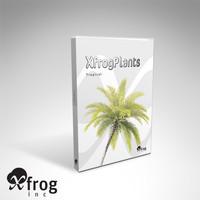 tropical dvd trees plants 3d model