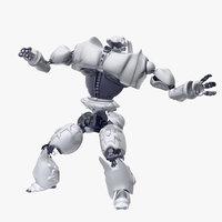 Robot Bot Rigged
