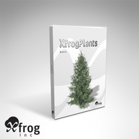 XfrogPlants Basic Trees Library