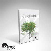 3d model trees fruit dvd plant