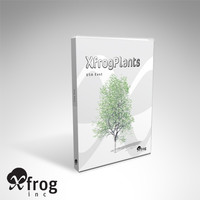 eastern usa trees dvd 3d model