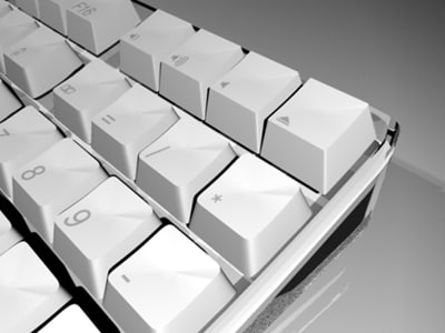 wireless apple keyboard 3d ma - Apple Wireless Keyboard... by SachaS