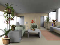 plants xfrogplants houseplants 3d model